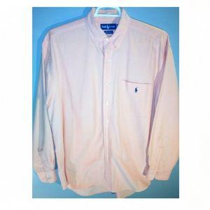 "Polo by Ralph Lauren men's large ""Big Shirt"""